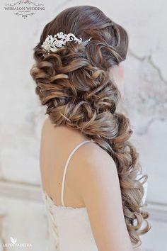 half up half down wedding hairstyles websalon-6r