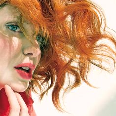 Christina Hendricks by Tony Duran for Rhapsody, April 2014