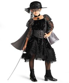 beautiful bandida girls costume