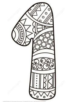 Great Image of Number 1 Coloring Page Number 1 Coloring Page Number 1 Zentangle Coloring Page Free Printable Coloring Pages Free Printable Coloring Pages, Coloring Pages For Kids, Animal Coloring Pages, Coloring Books, Shopkins Colouring Pages, Printable Crafts, Alphabet And Numbers, Zentangle Patterns, Nature Animals