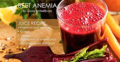 Beet Anemia With This Juice That is Rich in Natural Iron and All the Right Ingredients to Enhance Iron Absorption for Healthy Blood-Building