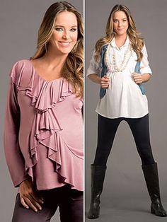 Looks muito legais da moda gestante que valorizam a barriga de grávida