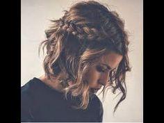 Hair | Peinados fáciles para el pelo corto - YouTube