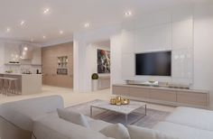 modern interiors - architecture - landscape — House P area: 470 m location: Kiev year: 2014 House Design, House, Interior, Home, Beige Interior, Living Room Interior, House Interior, Storey Homes, Living Decor