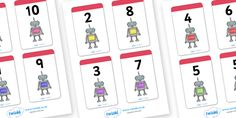 Twinkl Resources >> Number Bonds to 10 Matching Cards (Robots)  >> Classroom printables for Pre-School, Kindergarten, Primary School and beyond! number bonds, robot, robots, robot themed, matching cards, number bonds to ten, counting, number recognition,