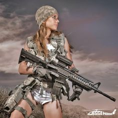 Hot Girl with Assault Rifle - These pictures are dedicated to our troops serving overseas. We found these pictures of models for each branch of our Military and wanted to share the album with you. We THANK EACH and EVERY ONE of the men and women risking their lives on a daily basis to protect our Freedom! Thank You from APOCALYPSE MMA! Please remember to follow APOCALYPSE MMA on Facebook at https://www.facebook.com/UltimateApocalypseMMA  and Twitter @Apocalypse_MMA