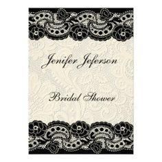 Elegant Bridal Shower Invitation