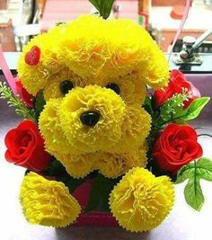 We sell small Cremation Urns that everyone can afford! Topiary Garden, Good Morning Greetings, Amazing Flowers, Pretty Flowers, Smiley, Flower Art, Puppy Love, Pet Dogs, Floral Arrangements
