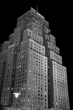 Hotel New Yorker. West 34th Street and 8th Avenue, NYC.