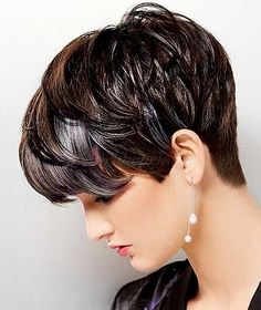Long Pixie Hairstyles Short-Bouncy-Pixie-Hairdo-with-Messy-Bangs Long Pixie Hairstyles Very Short Haircuts, Cute Hairstyles For Short Hair, Short Hair Cuts For Women, Hairstyles Haircuts, Curly Hair Styles, Pixie Haircuts, Sassy Haircuts, Trendy Hairstyles, Fashionable Haircuts