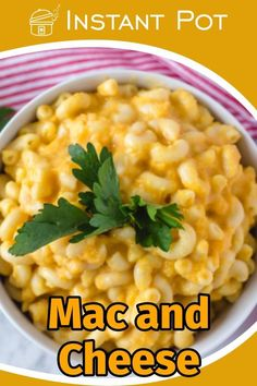 Mac and cheese is one of the most popular dishes over the world. It's easy to make and kid friendly, which makes it a great & filling dinner for the whole family.There are many upgrade options for this recipe. You can make it using spinach & pine nuts or any other vegetable you like (or want your children to like…).     #instantpot #corriecooks #instapotrecipe