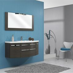 Meuble de salle de bains Image, chocolat
