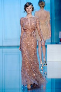 gorgeous beaded dress from 2011 couture spring collection. This spring is seeing many beaded variations as well. Love it!