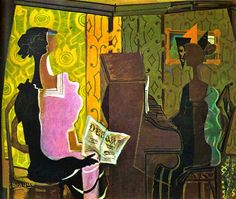 "Georges Braque's ""The Duet"" of 1937"