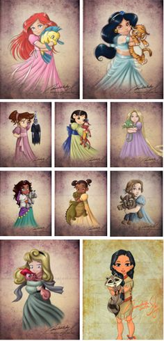 young disney princess  http://moonchildinthesky.deviantart.com/