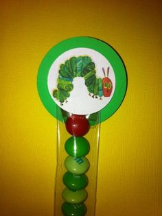 Hungry Caterpiller Party Favor
