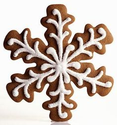 christmas gingerbread star
