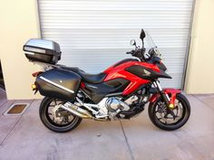 2013 HONDA NC700 MOTORCYCLE Halogen Headlights, 2013 Honda, Paddle, Saddle Bags, Motorcycle, Motorbikes, Sling Bags, Biking, Motorcycles