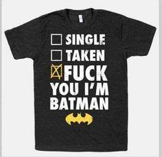 Batman shirt !!