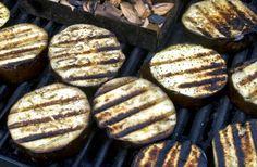 teriyaki grilled eggplant