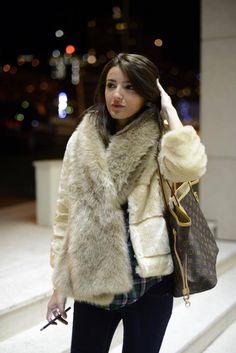 Travelling Moments ( Fur Real Faux Scarves & Fur Real Faux Jackets )