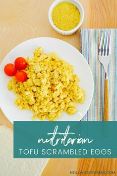 nutritarian tofu scrambled eggs recipe no oil no added salt vegan Dr Fuhrman diet plan
