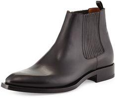 Bottes En Cuir Noir De Chelsea, Bottes De Marque Pour Hommes, Mode Homme, 6aa165d82dc3