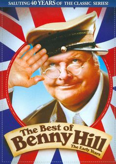 Celebrates Benny Hill with a collection of some of the best comedy and musical sketches from his show, originally aired Benny Hill, Easy Listening, Old Tv Shows, Movies And Tv Shows, English Comedians, France 3, British Comedy, British Sitcoms, Humor Grafico