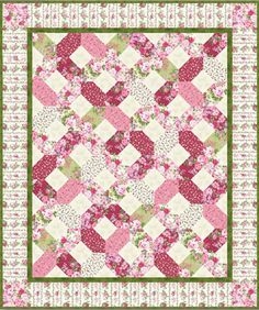 Rose Cottage Quilt Pattern