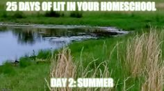 25 Days of Lit in Your Homeschool: Day 2 Summer