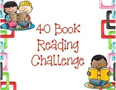This product provides your students with a 40 book challenge as mentioned in the book The Book Whisperer by Donalyn Miller.  The book genres are fairly vague leaving the readers the freedom to choose the books they wish to read.