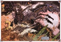 Philippe Druillet is, along with Moebius and Caza, one of the founding visionaries of the movement that took french comics by storm in the Art And Illustration, Fantasy Kunst, Fantasy Art, Space Fantasy, Art Science Fiction, Sci Fi Kunst, Roman, Arte Sci Fi, 70s Sci Fi Art