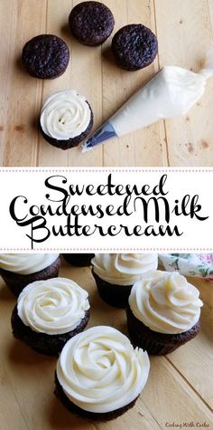 "Adding a little ""liquid gold"" sweetened condensed milk to buttercream makes it feel extra special. It add that little bit of rich depth of flavor you can't get anywhere else!"