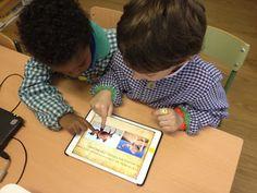 "Kindergarten students ""travel"" to the desert via TinyTap (SPANISH)"