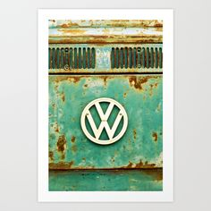 VW+Retro+Art+Print+by+Alice+Gosling+-+$20.00