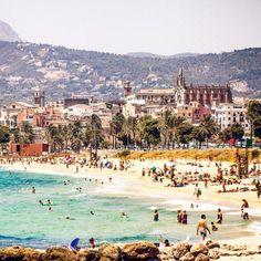 Enjoying the hot summer sun in #Palma, #Spain
