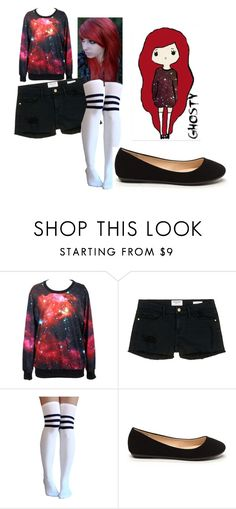 """""""Ghosty"""" by candy-lover12 ❤ liked on Polyvore featuring Frame Denim"""