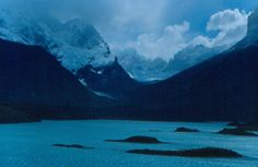 Islas en Lago Nordenskjold hacia el Paine Medio