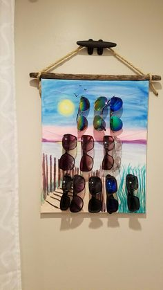 Check out super awesome products at Shire Fire! :-) OFF or more Sunglasses SALE! Sunglasses Organizer, Sunglasses Storage, Wooden Sunglasses, Sunglasses Sale, Sunglasses Holder, Diy Storage, Jewelry Organization, Getting Organized, Home Projects