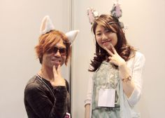 Nekomimi - Brain wave controlled cat ears.  This company also has an emotion controlled tail.