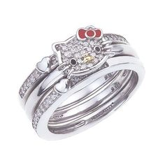 would it be bad if i wanted a hello kitty wedding set - Hello Kitty Wedding Ring