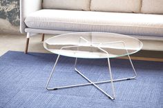 #Hightower's Lotus Table is an elegant and light coffee / side table.