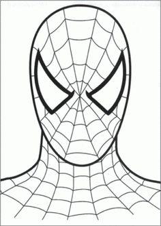 coloring pages batman spiderman cakes - photo#2