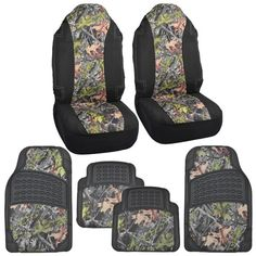 Hawg Camo Huntsman Seat Covers & Heavy Duty Rubber Floor Mats Pink & Camouflage for Truck SUV Auto Camo Car Accessories, Pink Camouflage, Rubber Floor Mats, Car Covers, Truck, Mom, Trucks, Mothers