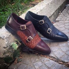 WHAT MEN WEAR — Very nice double monks from @maglieriapelle ||...