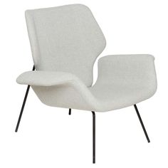 Alvin Lustig Lounge Chair | From a unique collection of antique and modern lounge chairs at http://www.1stdibs.com/furniture/seating/lounge-chairs/