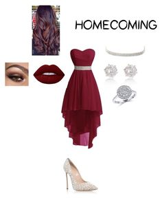 """Untitled #56"" by michellebradham ❤ liked on Polyvore featuring Casadei, Lime Crime, Charlotte Russe and Effy Jewelry"