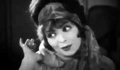 "Clara Bow in ""It"" (1927)"