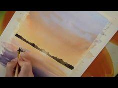 Мастер-класс #42 Маки акварелью - YouTube