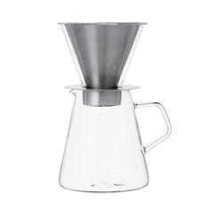 Discover the Kinto Carat - Coffee Dripper & Pot at Amara
